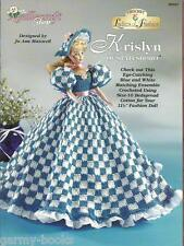 Krislyn of Statesboro Ladies of Fashion Crochet Gown Pattern for Barbie Doll NEW