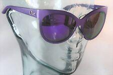 Christian DIOR Purple 2 tone large Cat eye Sunglasses O5RTE NEW