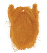CHARACTER BEARD LARGE 2 COLOURS BLACK GINGER FANCY DRESS ACCESSORY