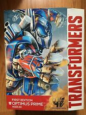 Transformers Age of Extinction First Edition Optimus Prime Figure NEW!!!