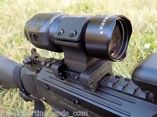 3x Flip to Side Tactical Magnifier Pro Sightmark Fits EOTech, Aimpoint, SM19024