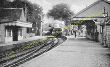 Andover Town Railway Station Photo.Andover Jct. to Clatford and Fullerton. (3)