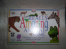 COMPLETE The Really Amazing Animal Game Ages 6 & Up 2-6 Players Henry the Lizard