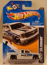 2012 Hot Wheels HW Main Street '12 Chevy Silverado Police City of Yuma VHTF!!
