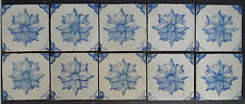 Antique Portuguese 10-Tile Set