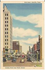 Polk Street Looking North From 10th Avenue in Amarillo TX Postcard
