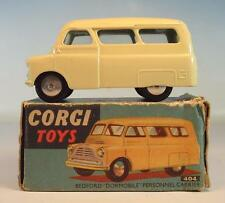 Corgi Toys 404 Bedford Dormobile Personnel Carrier in O-Box #4333