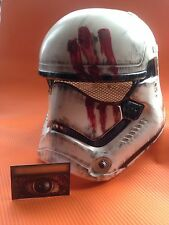 STAR WARS STORMTROOOR 2 PIECE DELUXE HELMET CUSTOM  WEATHERED PROP COSPLAY