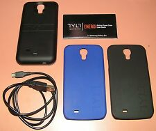 TYLT ENERGI Sliding Power Case Samsung Galaxy S4, w Blue and Black accent cases