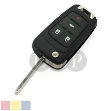 Flip Key Shell fit for CHEVROLET Remote Key Case Fob Replacement 4 Button