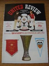 15/09/1982 Manchester United v Valencia [UEFA Cup] . No obvious faults, unless d