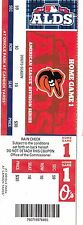 2012 BALTIMORE ORIOLES VS NY YANKEES PLAYOFF ALDS GAME #1 FULL TICKET STUB JETER