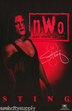 POSTER : WRESTLING: STING - NWO  1998 -  FREE SHIPPING ! #308  RP73 H