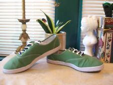 Joe Boxer Canvas Lace Up Athletic Sneakers SZ 11M US....Euro 44...Green