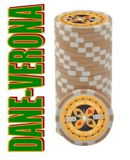 BLISTER da 25 Fiches/Chips 14 gr. mod. ULTIMATE POKER Valore 1.000