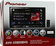 "NEW PIONEER AVH-X5800BHS 7"" LCD DOUBLE DIN BLUETOOTH DVD (Replaced AVH-X5700BHS)"