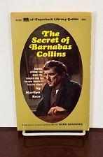 1969 DARK SHADOWS #7 THE SECRET OF BARNABAS COLLINS HORROR TV PAPERBACK BOOK