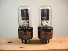CBS Hytron 6SN7GT vacuum tubes matched and guaranteed same codes ULTRA QUIET