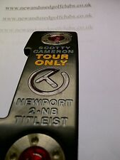 "SCOTTY CAMERON TOUR ONLY CIRCLE T NEWPORT 2 NOTCHBACK PUTTER 34.5"" -"