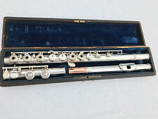 Beautiful vintage I. LOT Paris France Boehm Flute