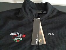 STARS ON ICE Skating PROMO Sweater FILA Shirt SMUCKERS Size XL Free Shipping