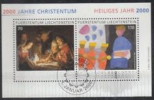 Liechtenstein 2000 Bf 20 2000 anni di cristianesimo usato