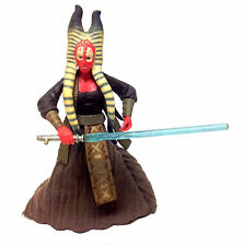 "Star Wars Revenge of the Sith SHAAK TI female Jedi master 3.75"" toy figure RARE"