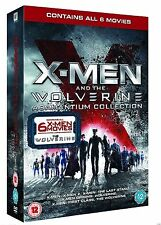 X MEN Wolverine Complete All 6 Movie Collection DVD Box set 1 2 3 First Class