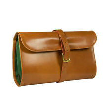 Daines and Hathaway Bridle Tan Military Wet Pack Wash Bag (DHS1712BDTN)