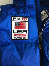 NWT Men's L $245 Polo Ralph Lauren BIG PONY Alpine Ski Vest Puffer Coat