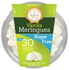 Krunchy Melts Sugar Free Meringues - Vanilla, Low Carb, Fat Free, Stevia