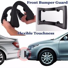 Heavy Duty Front Bumper Guard & License Plate Frame for Automobile Protection