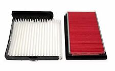 COMBO SET 5669&25877 ENGINE & AC Cabin Air Filter for 2012 VERSA 1.8L
