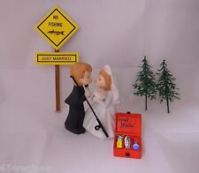 Wedding Reception Engagement Party Fisherman Fishing Pole Tackle Box Cake Topper