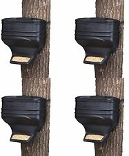 (4) Moultrie Feed Station Food Dispensing Gravity Deer Feeder Kits | MFG-13104