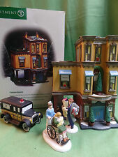 Dept 56  Parkview Hospital Ambulance and Bringing Home Baby Accessories