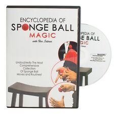Encyclopedia of Sponge Ball Magic - DVD Combo With Your Choice of Sponge Balls!