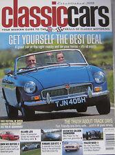 Classic Cars 07/2003 featuring Allard J2X, Aston Martin,Ferrari, MGB,Ford,Austin