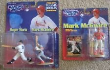 1999 99 Starting Lineup Mark McGwire Lot St. Louis Cardinals Roger Maris