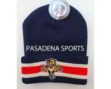 "FLORIDA PANTHERS VINTAGE ""LOGO 7"" KNIT CAP / BEANIE NWT nba"