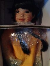 "Georgetown Collection ""Golden Flower"" Native Doll By Carol Theroux"
