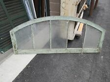 ARCHED top transom window frame sash CIRCA 1890 FACTORY NY STATE 60 x 25.5 x 2""