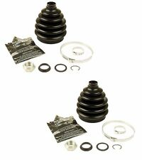 2 Front Outer VW Cabrio Golf Jetta Passat Audi CV Joint Boot Kit CRP 1H0498203