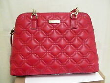 Kate Spade Rachelle Astor Court Red Quilted Leather Handbag