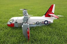 Unique RC scale model fly airplane US XC142 dynavert tilt wing vtol EPO big wing