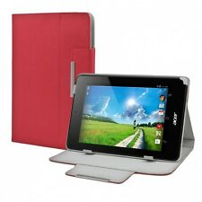 Tasche Hülle f. Acer Iconia One 7 Schutz Tasche Cover Case Tablet Zubehör Rot