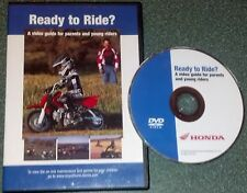Ready To Ride? - A Video Guide For Parents And Young Riders by Honda DVD