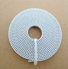 3D Printer GT2 Timing Belt (White) steel wire- 2 meter, 6mm Width| CNC/Project