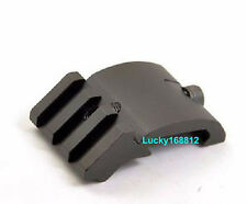 ULTRA LOW PROFILE OFFSET ANGLE PICATINNY RAIL MOUNT 45 DEGREE 20MM Black#33