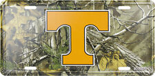 TENNESSEE VOLUNTEERS CAR TRUCK TAG CAMO LICENSE PLATE  METAL SIGN